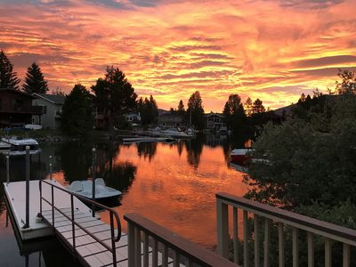 Photo for Luxurious 4 BR/3 BA Water Front Tahoe Keys Home