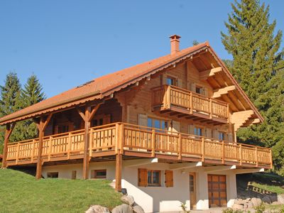 Photo for Chalet 130m2, 5 minutes from Gérardmer, 4 bedrooms + children's playroom