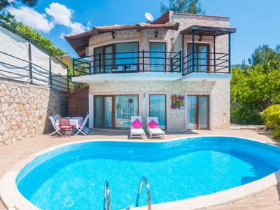 Villa Papatya : Villa With Amazing Location, Private Pool, Views and Easy Access