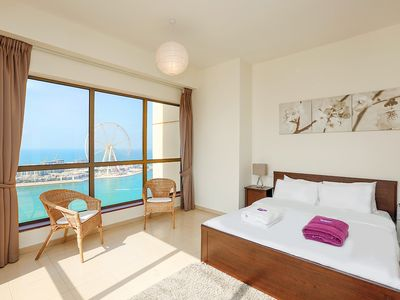 Photo for High Rise 2BR in Jumeirah Beach Residence
