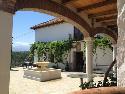 Photo for Beautifully situated rural guest house overlooking the Sierra Nevada