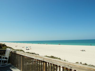 Photo for Directly on the Beach!! Sunny & Bright Delightful 1 Bedroom/1 Bath Unit-Sleeps 4
