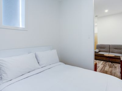 Photo for The Address on Grande-Allée - Large studio with queen bed and double sofa bed TRIPLE