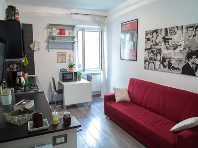 Photo for TWO ROOMS APARTMENT IN A NEIGHBORHOOD STREET ART