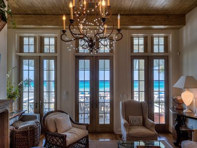 Photo for Extraordinary Gulf Front Beach House & Private Walkover - Rosemary Beach Area