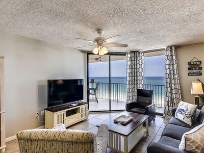 Photo for Beachfront Condo | Breathtaking Views of Gulf and Pass | My Beach Getaways