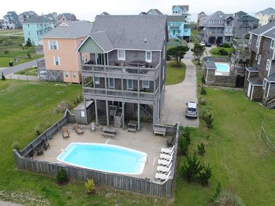 Photo for Oceanside in Hatteras w/Pool&HotTub, RecRoom