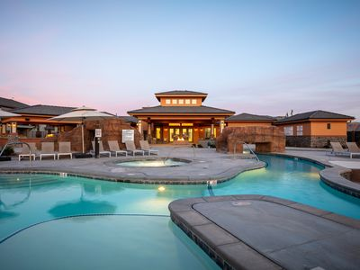 Photo for Large Luxury Townhouse   Huge Pool/Spa   24 Guest
