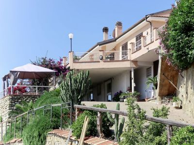 Photo for Pompeiana Apartment, Sleeps 10 with Pool, Air Con and Free WiFi