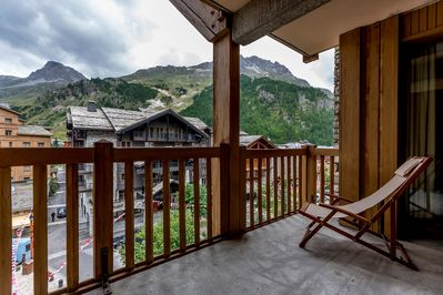 Sit on your balcony or terrace and relax!