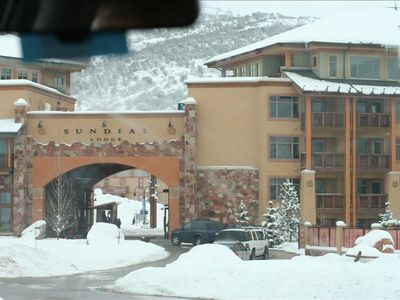 Photo for 1BR/1BA Ski-In~Ski-Out Overlooks Canyons Village - No Resort/Cleaning Fees!
