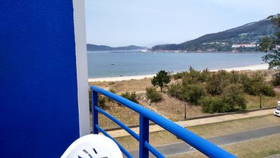 Photo for Beautiful apartment on the beach front with sea views