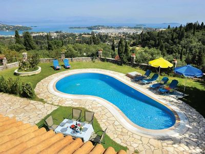 Photo for 3 bedroom Villa, sleeps 6 in Kyra Chrysikou with Pool, Air Con and WiFi