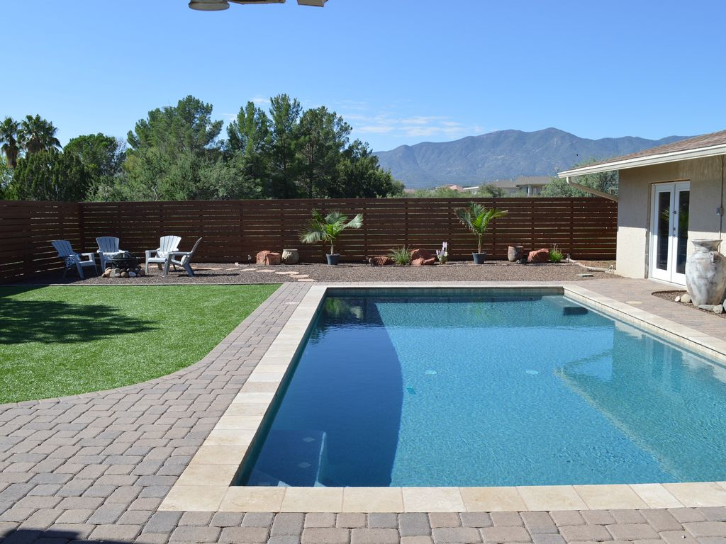 Views Privacy Swimming Pool 2 5 Acres Minutes To Sedona Private Quiet Clean Cottonwood