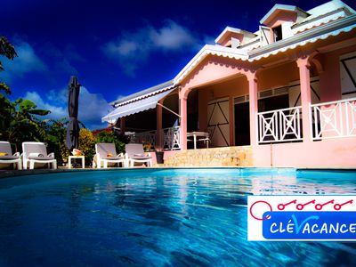 Photo for VILLA TI COLIBRI IDEAL FOR A CREOLE DEPAYMENT 300 meters from the sea