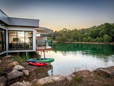 Photo for Maison du Lac - house on lake, close to town