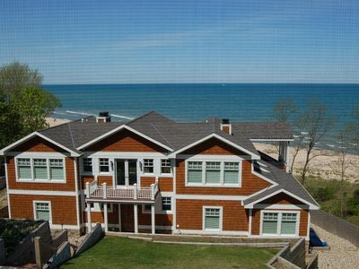 Photo for 7500 sq.ft. Beachfront Home in Union Pier Sleeps 12