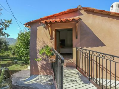 Photo for Detached, charming house in the hinterland of Nice (20 km)
