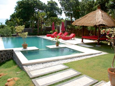 Photo for Luxury villa close to Lovina with pool and staff and spectacular views!