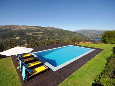 Photo for 3 bedroom Villa, sleeps 6 in Postimião with Pool and WiFi