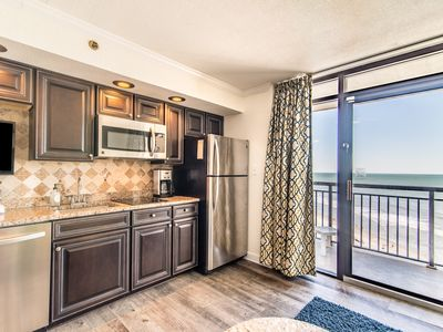 Photo for Stunning clean oceanfront condo just renovated with 5 pools and hot tubs.