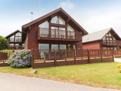 Photo for Two bedroom lodge on stunning resort with watersports facilities
