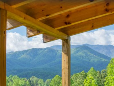 Photo for True Log Cabin, Privacy, Secluded MtnViews, Easy Access, King Bed, Wifi, Netflix