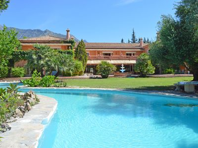 Photo for Magnificent Villa, sleeps up to 20, Rocio Nagüeles, Golden Mile, Marbella