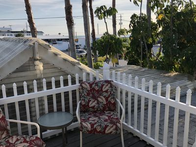 Photo for Beach Retreat-2 bedroom, 1 bath Upstairs w/porches, a short stroll to the beach