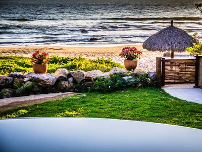 Photo for Beach Front Villa That Entices Your Senses And Soothes Your Soul