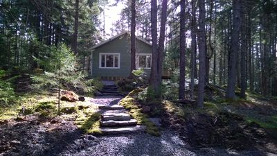 Photo for Enjoy this little cottage in the woods built by Grandy and Grandma!