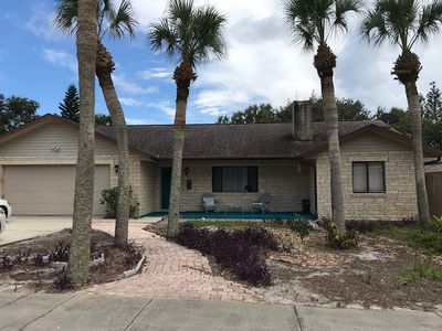 Photo for Spacious, 3 bedroom pool home Walking distance to Beach and Flagler