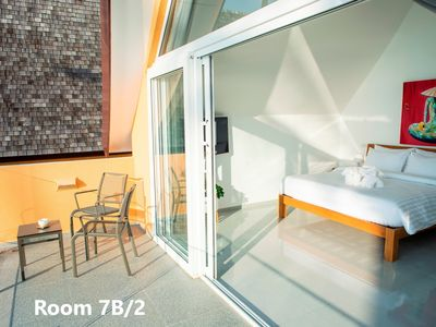 Photo for Sunset Emily Villas - ROOM - 7B/2 - double bedroom with sea view & BREAKFAST