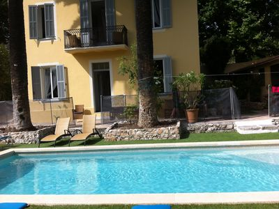 Photo for Luxury Villa in Vence Centre Villa Les Bambous SLEEPS 10