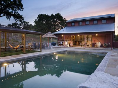 Photo for Farmhouse + 6 acres of privacy in Sonoma Valley with Barn &  Swimming Pool