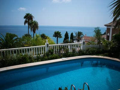 Photo for Sea view house in a prime location of Nerja