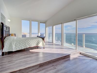 Photo for Oceanfront home w/ fireplace, balcony, amazing ocean views - near Santa Monica!