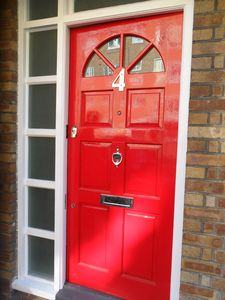 The Big Red Door At No4!