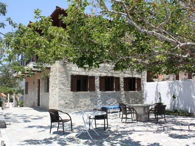 Photo for Rural idyll an directly at the sea: holiday house with wifi in Arcadia, Peloponn