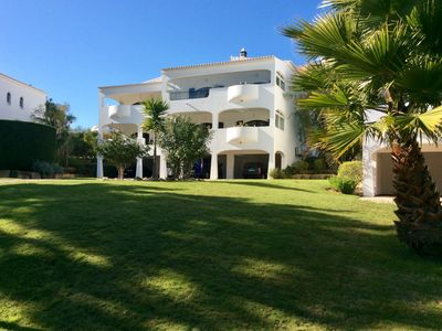 Photo for Spacious apartment with shared pool and picturesque views over rural golf course