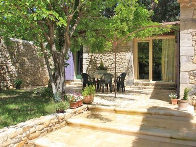 Photo for Typical village house in a quiet location in Vaison-la-Romaine