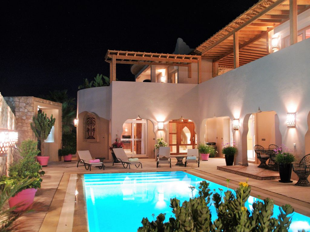 luxury rental for real vacation calm charm quality and service - Location Villa Mirleft Avec Piscine