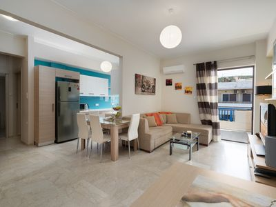 Photo for Modern Apartment, just 70 meters from the sea!