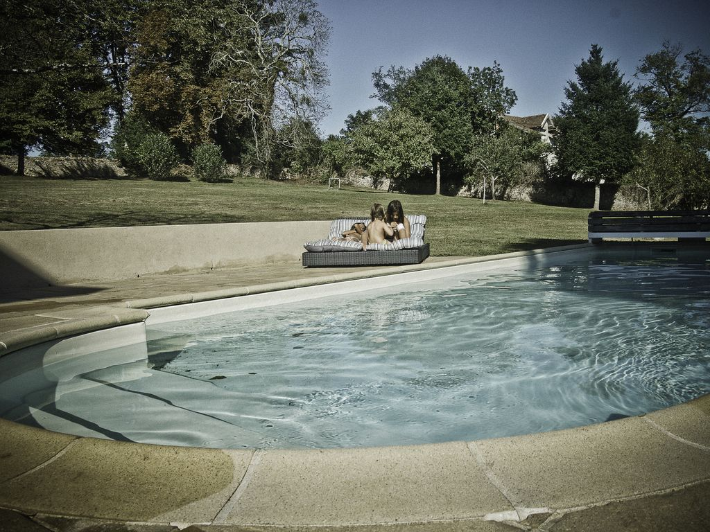 Mansion   12 people   Swimming pool   View Imprenable Vienne Valley
