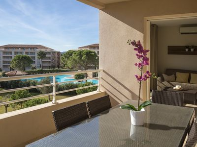 Photo for Bright apartment in luxury Resort, Porto Vecchio 2 bedrooms 6 sleeps