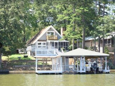 Photo for Lake Tillery Main Channel Lakefront Home, Albermarle