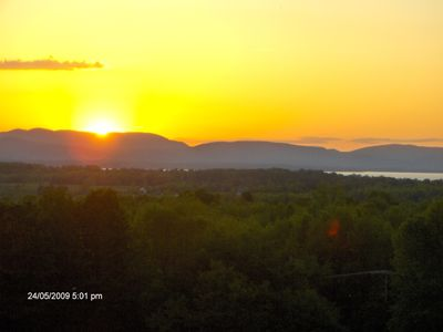 Photo for Charming/Inviting  Home With Breathtaking Sunsets Over Beautiful Lake Champlain