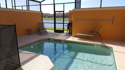 Photo for Great Family Vacation Home with a Private Pool 10 Min From Disney