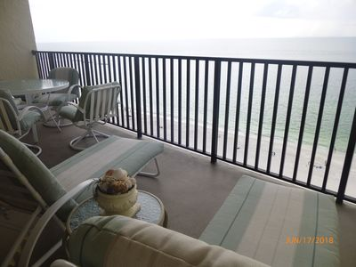 Photo for Seawinds  Beautiful Beachfront Renovated Condo. Dolphins Go bye