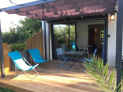 Photo for Studio les Anémones Sarlat with terrace and air conditioning
